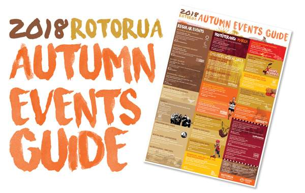 Events Calendar   promotional WEB advert autumn
